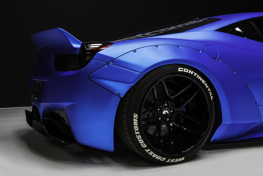 Justin Bieber's Fat Bottom Liberty Walk 458