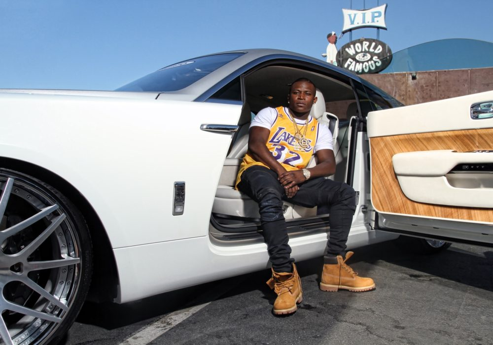 O.T. GENASIS on The Cover of DUB Magazine