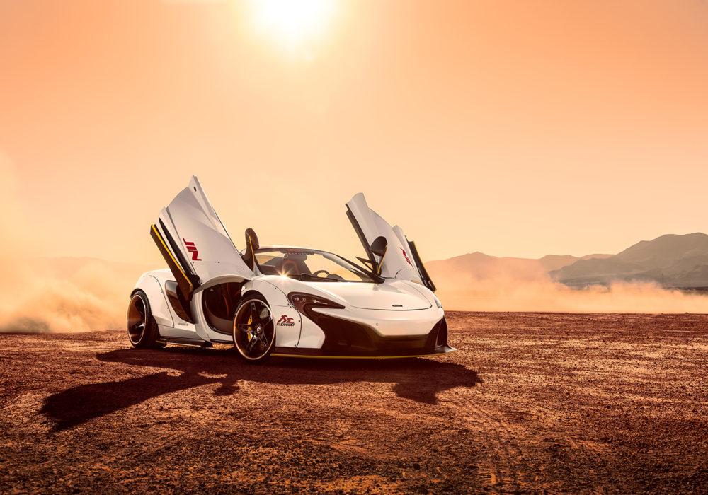 Magnified McLaren