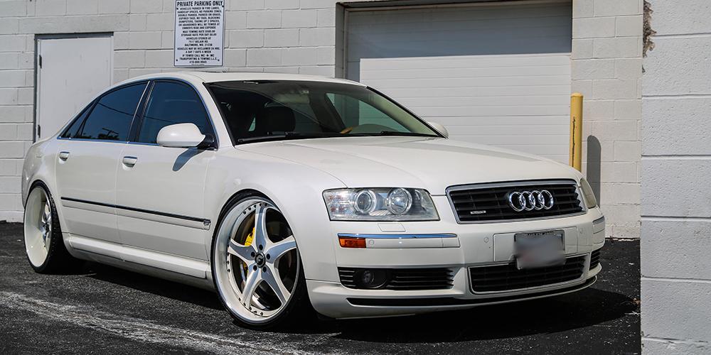 Audi A6 White Origin.