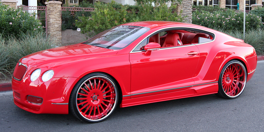 Car gallery bentley continental gt on andata wheels sciox Images
