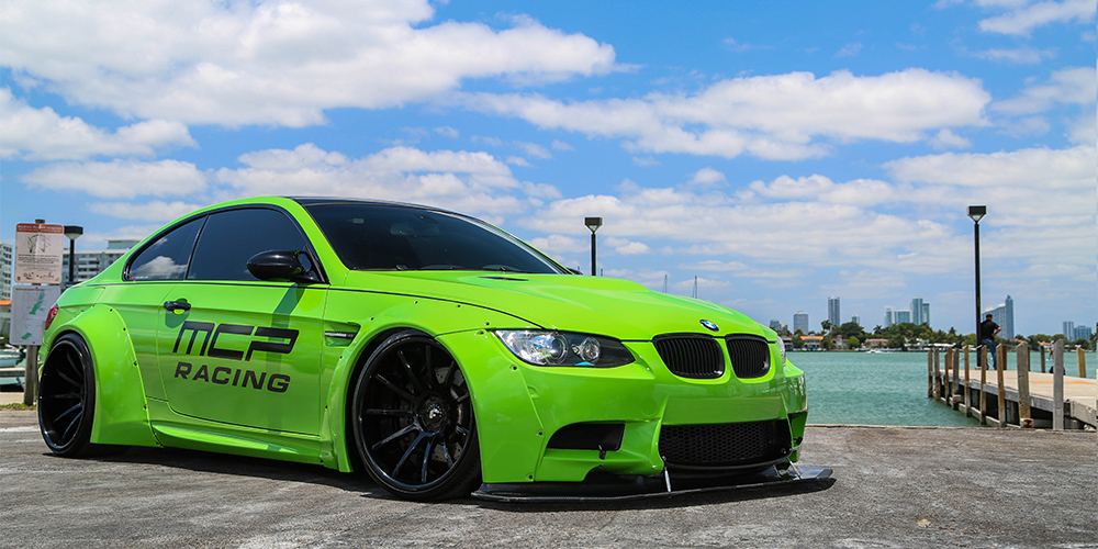 Bmw M3 Green Exotic .