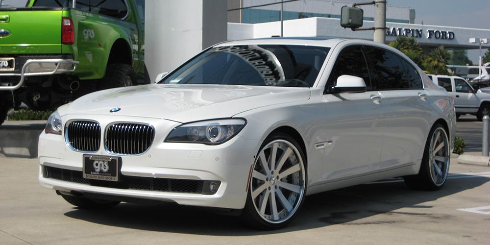 BMW 7 SERIES ON CONCAVO WHEELS