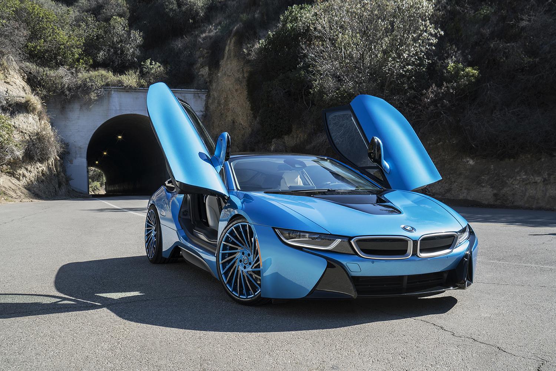 BMW I8 ON VENTOSO ECL WHEELS