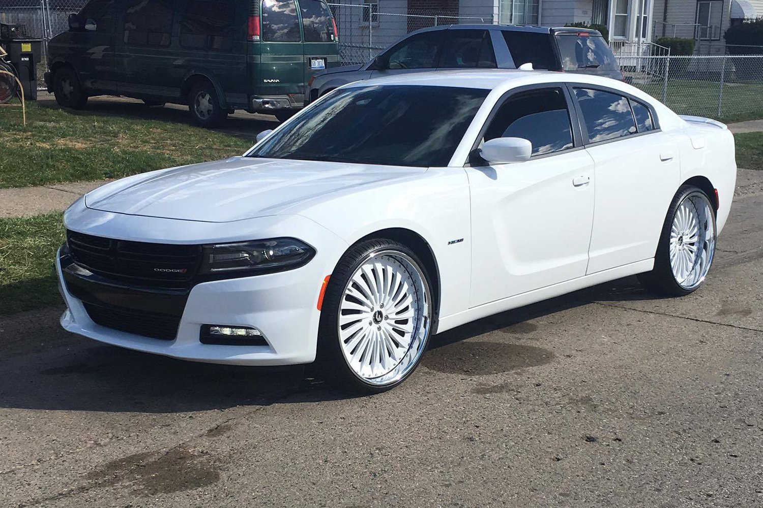 White Dodge Charger Rt - Best Electronic 2017