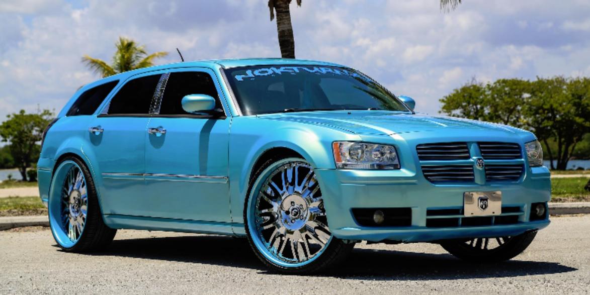 Dodge Magnum Blue Or