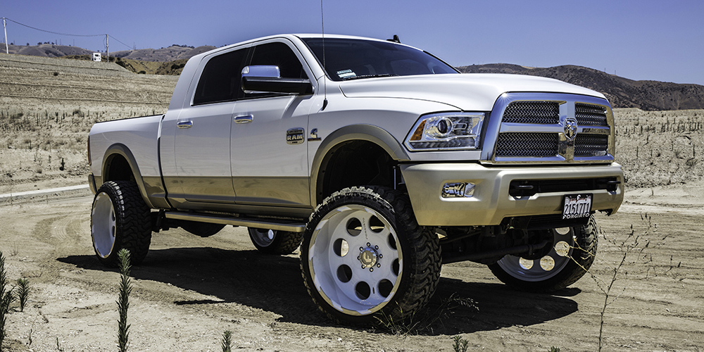 Dodge Trucks On Rivoto T Wheels