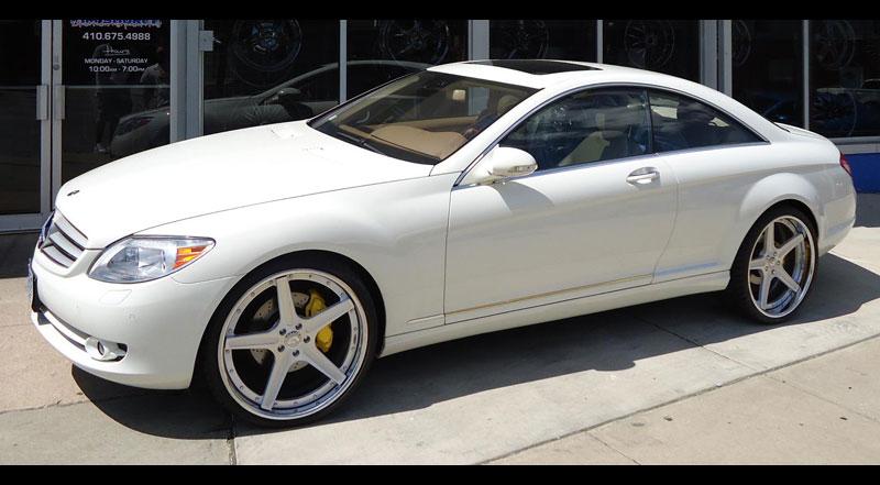 Mercedes Benz Cl On Aggio B Wheels