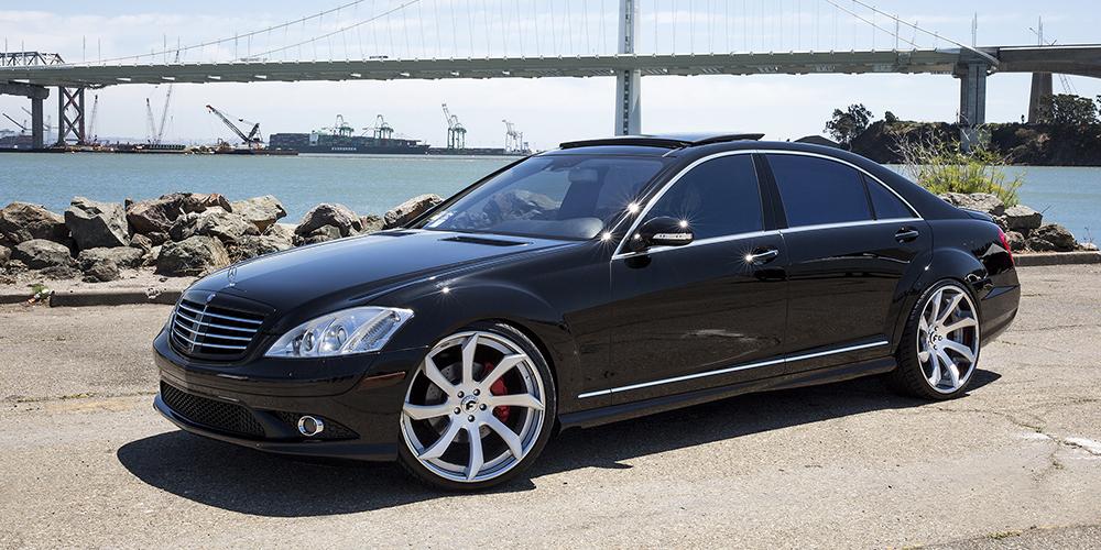 Mercedes Benz S Cl On Fondare Ecl Wheels