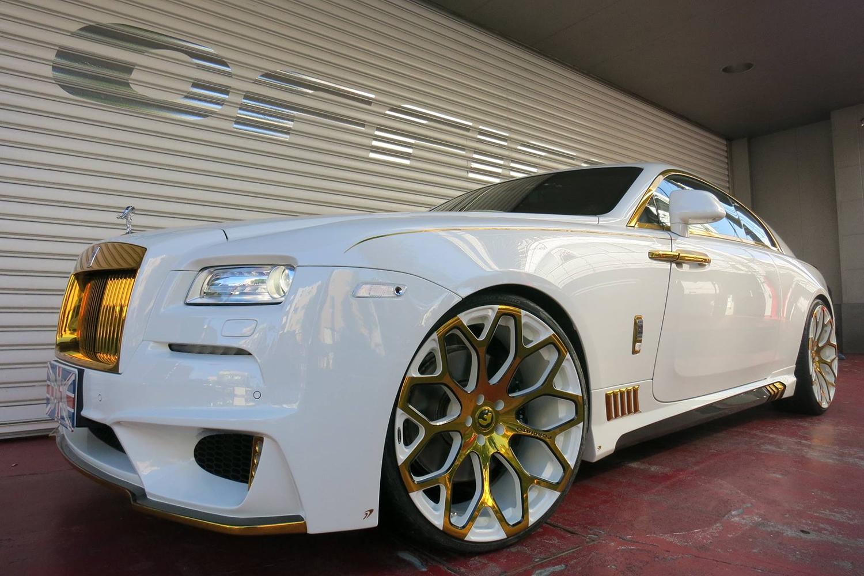 Rolls Royce Wraith On Tessi M Wheels