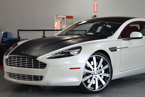 Aston Martin Rapide On Concavo