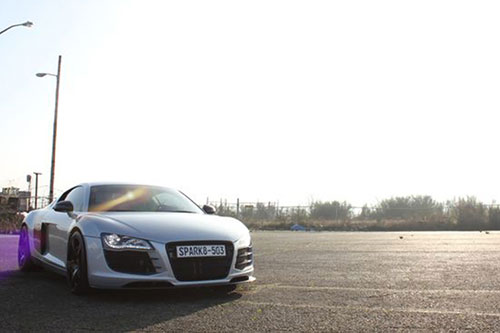 Audi R8 On Spacco-M
