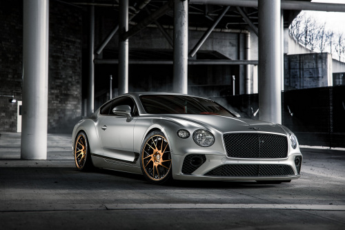Bentley Continental Gt On TEC 2.2