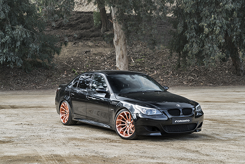 Bmw 5 Series On Navaja-ECX