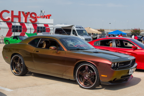 Dodge Challenger On Spacco-M