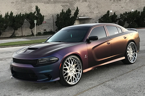 Dodge Charger On Niddo-B