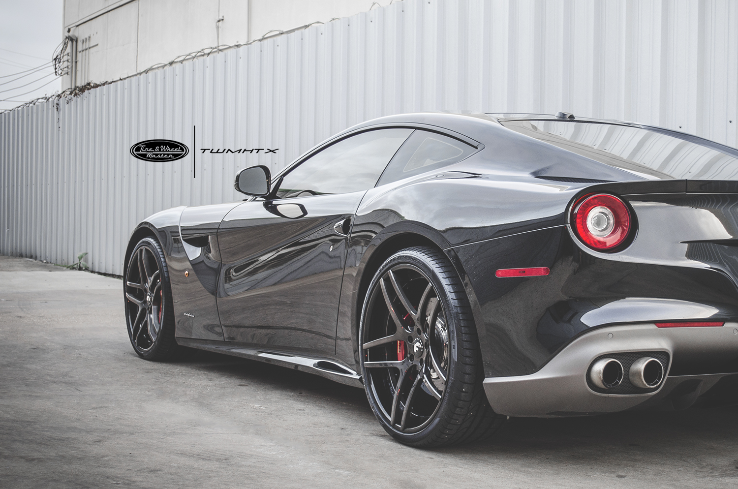Ferrari F12 Berlinetta On Dieci-ECL