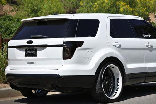Ford Explorer Forgiato Wheels Series Sedici