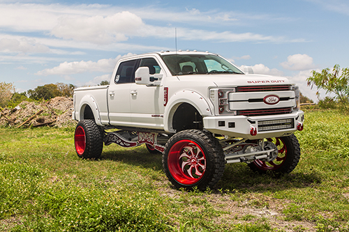 Ford F250 On Avviato