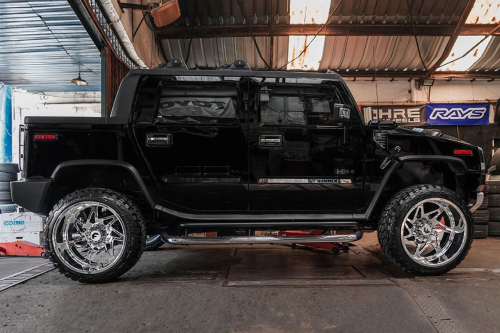 Hummer H2 On Finestro-T