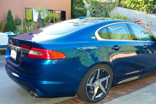 Jaguar Xf On Spacco-M