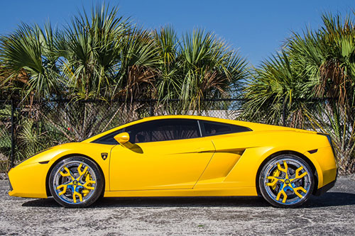 Lamborghini Gallardo On Basamento