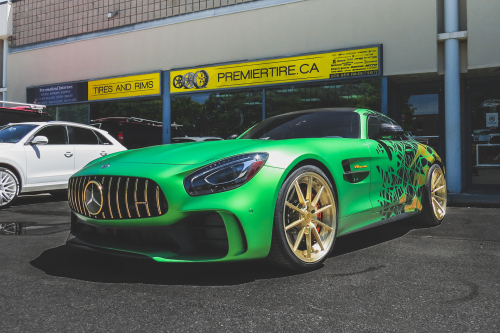 Mercedes-benz Amggts On TEC 2.4