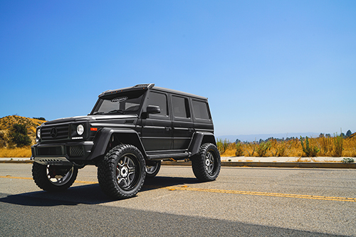 Mercedes-benz G Wagon On Origini-T