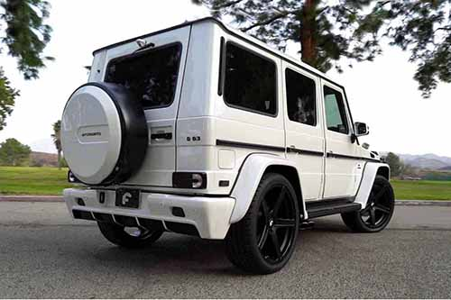 Mercedes-benz G Wagon On Aggio-M