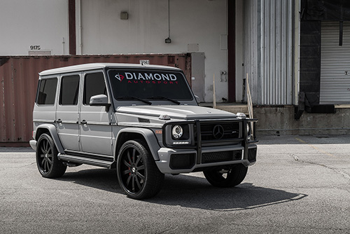Mercedes-benz G Wagon On Concavo