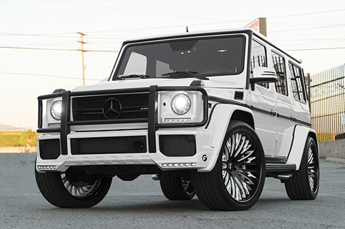 Mercedes-benz G Wagon On Cravatta-ECL