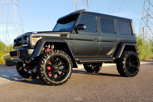Mercedes-benz G Wagon On Gambe-1
