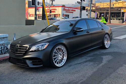 Mercedes-benz S Class On TEC 2.3