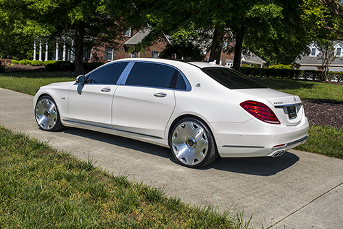 Mercedes-benz S Class On Fiore-M