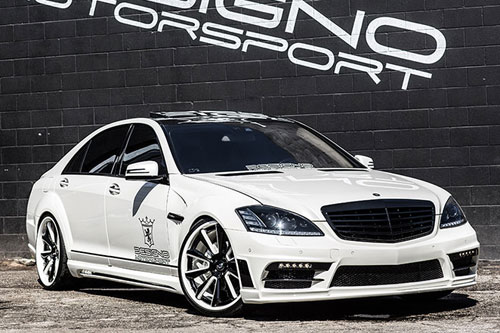 Mercedes-benz S Class On F2.04