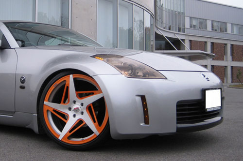 Nissan 350z On Spacco-M