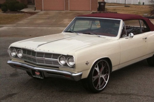 Old School Chevelle On Forcella