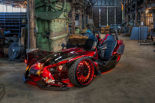 Polaris Slingshot On Ventoso-ECL
