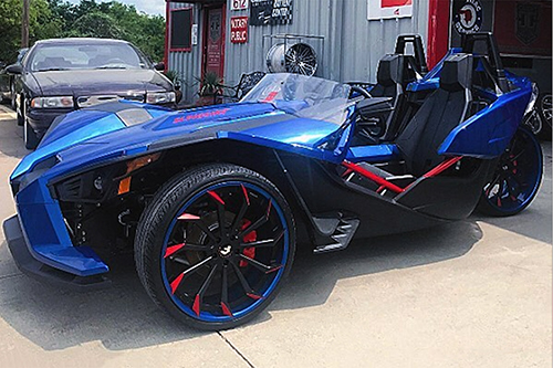Polaris Slingshot On Navaja-ECX