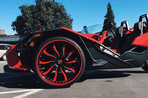 Polaris Slingshot On Inferno
