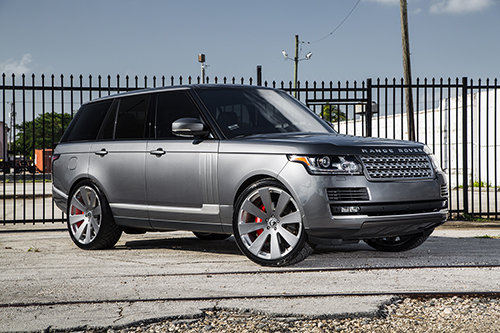 Range Rover Hse On Otto-M