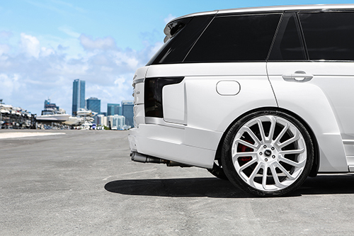 Range Rover Hse On Labbro-M