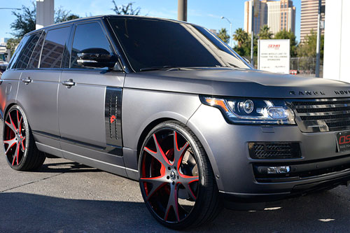Range Rover Hse On Forcella
