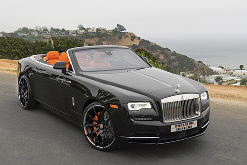 Rolls Royce Dawn On Formato-ECL
