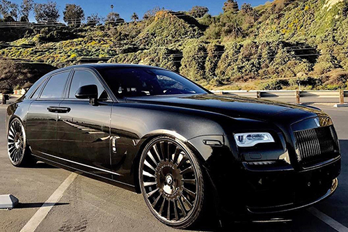 Rolls Royce Ghost On Calibro-M