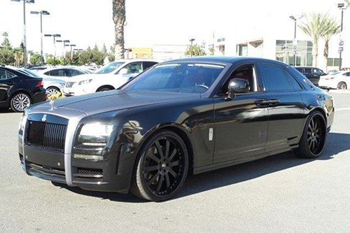 Rolls Royce Ghost On Concavo