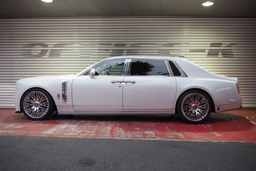 Rolls Royce Phantom On Cravatta-ECL
