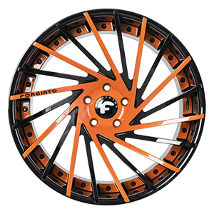 Finish: Black,  Orange