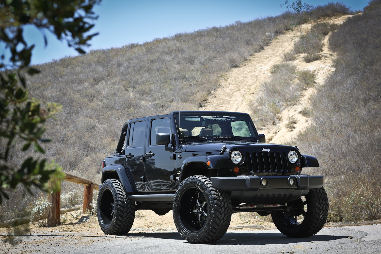 Lifted Jeep Rubicon 4 Door