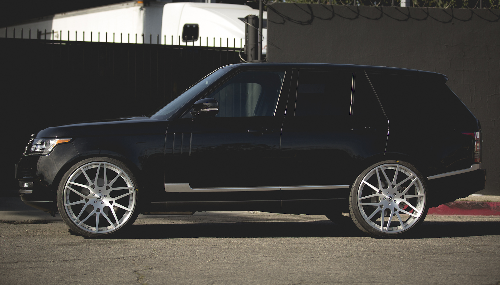 Black Range Rover Wheels Black Range Rover Hse